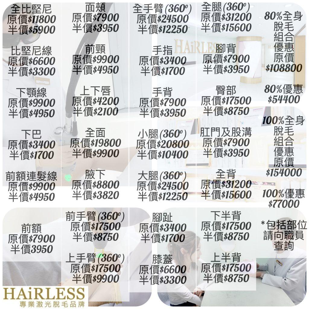 2021 HAiRLESS 評價